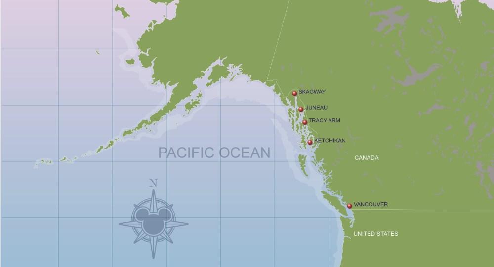 アラスカ 地図 マップ